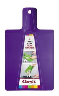 Tabla De Picar Plegable Tabla De Corte Plástico Resistente Carol Para Carnes Quesos Y Verduras Varios Colores 28 X 22 Cm