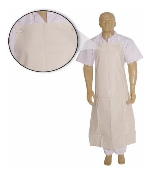 Avental Branco De Napa Para Açougue, Cozinha, Padaria - 20pç