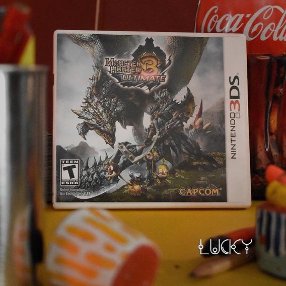 Monster Hunter 3 Ultimate - Nintendo 2ds/3ds