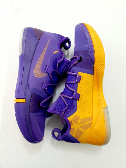 Nike Kobe Ad Edición Lakers Tenis Basquetbol