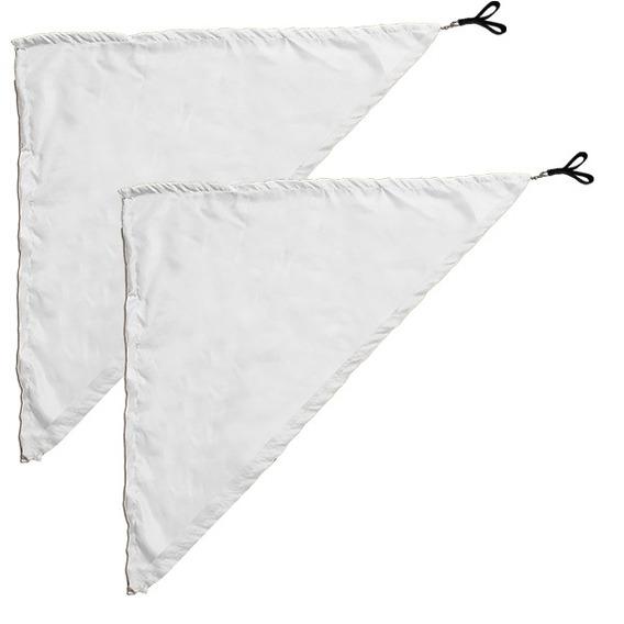 Swing Flag Triangular Branco - 70 Cm X 140 Cm