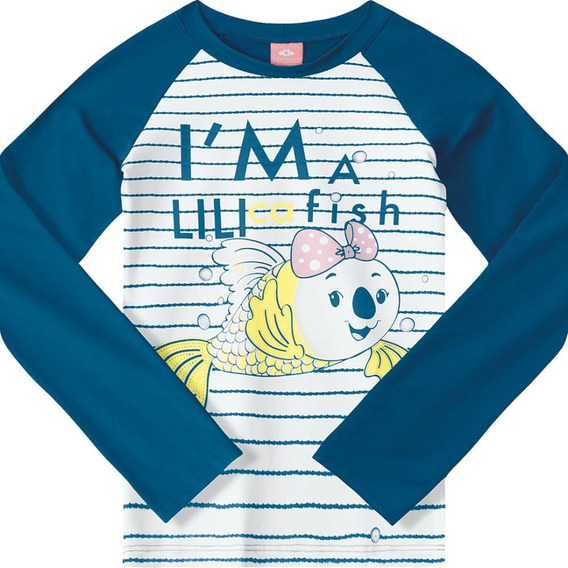 Blusa Lilica Ripilica Infantil 10110318