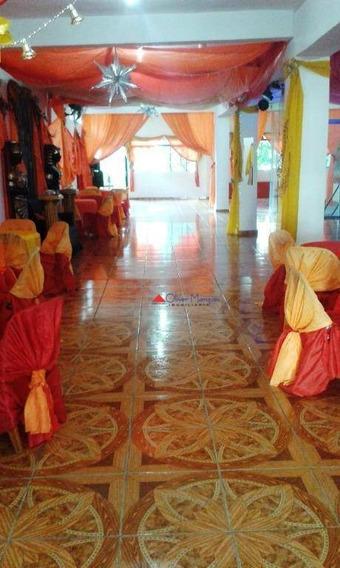 Salão Para Alugar, 210 M² Por R$ 4.000,00/mês - Vila Osasco - Osasco/sp - Sl0092