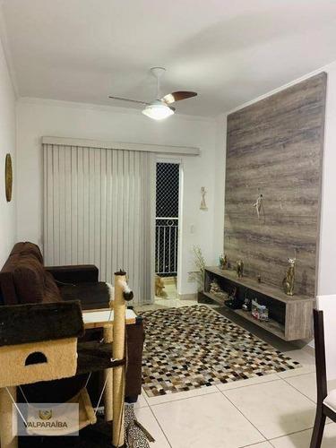 Apartamento À Venda, 65 M² Por R$ 240.000,00 - Jardim Jaraguá - Taubaté/sp - Ap0723