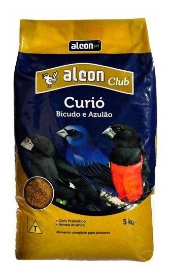 Ração P/ Curió Bicudo Azulão - Alcon Club Curió 05 Kg