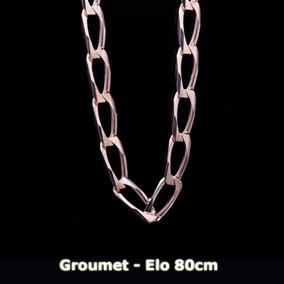 Corrente Em Prata 925 Elo 80cm - 100,0grs