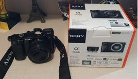 Câmera Sony Alpha A6000 24,3 Mp (1 Mês De Uso + Nf+ Garant)