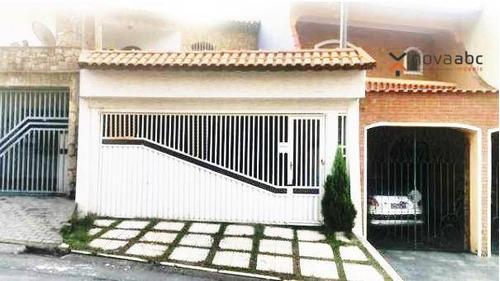 Sobrado Com 3 Dormitórios À Venda, 220 M² Por R$ 590.000 - Parque Marajoara - Santo André/sp - So0332