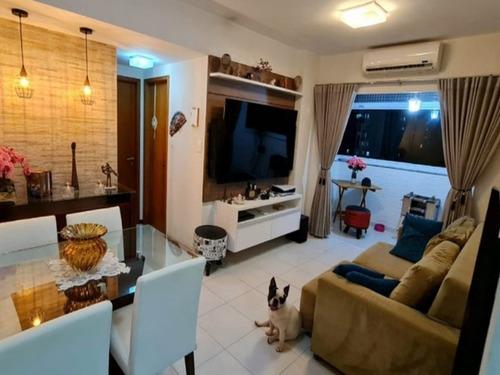 Imagem 1 de 20 de Apartamento Dois Quartos Sendo Uma Suíte 67m2 A Venda No Bairro Pituba - Sfl634 - 69514861