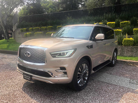 Infiniti Qx80 5.6l Perfection 7 Pasajeros At 2019