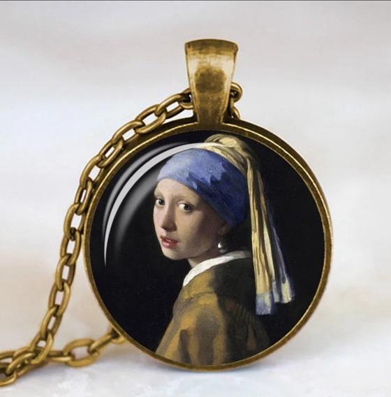 Collar La Joven De La Perla De Johannes Vermeer