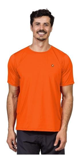 Camiseta Masculina Manga Curta New Dry Com Proteção Solar Uv