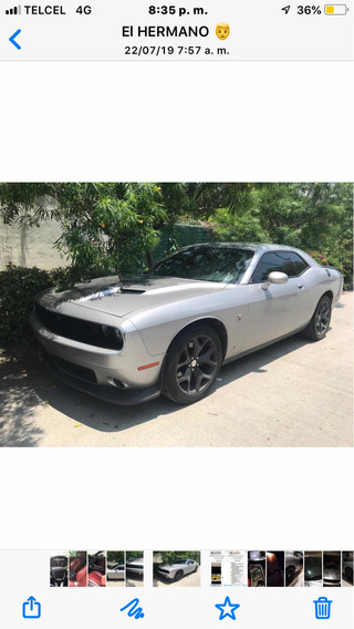Dodge Challenger 3.6 Black Line V6 At 2015