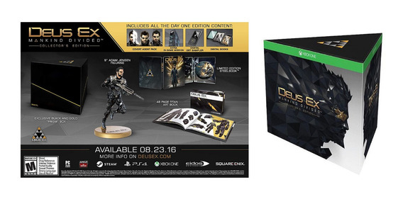 Deus Ex Mankind Divided Collectors Edition Xbox One