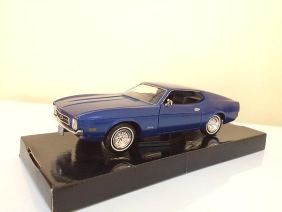 Ford Mustang Sportsroof 1971 Escala 1/24 Carros De Colección