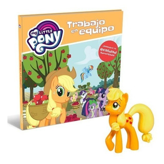 Applejackmy Little Pony Libro Tapa Dura - Nº 05