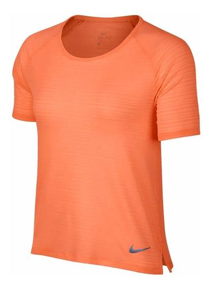 Camiseta Nike Miller Top Ss Feminina Coral 891172-827
