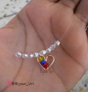 Fantasma Corazón Venezuela En Alambre