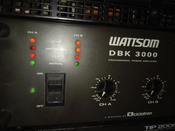 Potência Dbk 3000 Wattsom