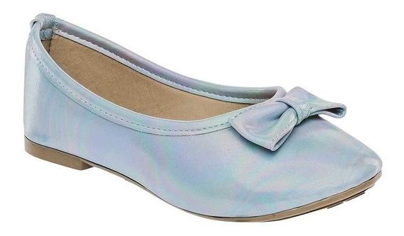 Zapato De Piso Niña Dama Sexy Girl 842 Azul 16-24 84747 T3