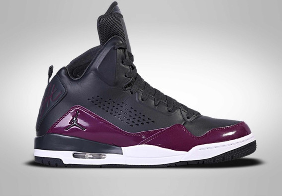 Basqueteira Rara Flight Jordan Sc-3 Black Purple(cor Rara)