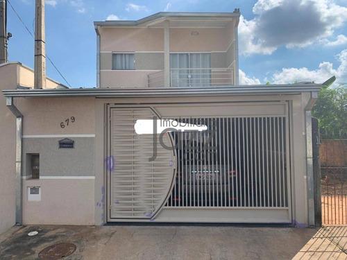 Casa Em Excelente Localização, Com 2 Dormitórios, Sendo 1 Suite À Venda, 140 M² Por R$ 365.000 - Parque Sevilha (nova Veneza) - Sumaré/sp - Ca6886