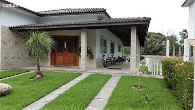 Casa Em Condomínio Para Venda Em Guapimirim, Caneca Fina, 1 Dormitório, 2 Suítes, 4 Banheiros, 4 Vagas - Cond-338
