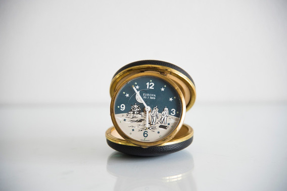 Reloj Despertador De Cuerda Marca Europa