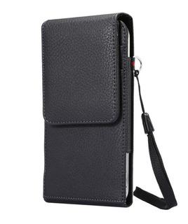 Capa Premium Couro Porta Cartão Cinto Sams J6 Plus Note 9 A9