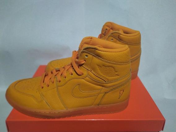Tenis Nike Jordan Retro 1 Gatorade Naranja Nuevo Original