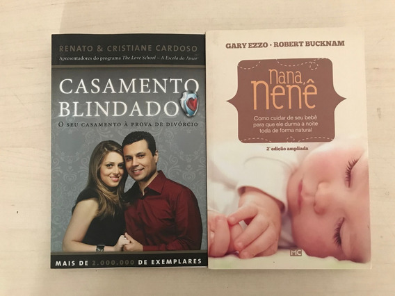 Kit Livros Nana Nenê & Casamento Blindado