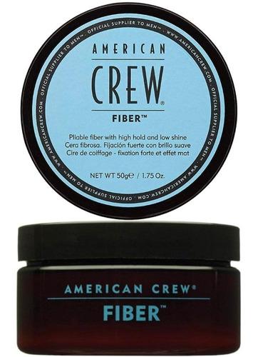 Cera American Crew Fiber Fijación Fuer - g a $1078