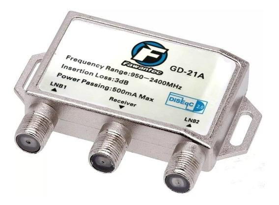 Diseqc 2.0 Chave Comutadora Para Duas Antenas Fawantec