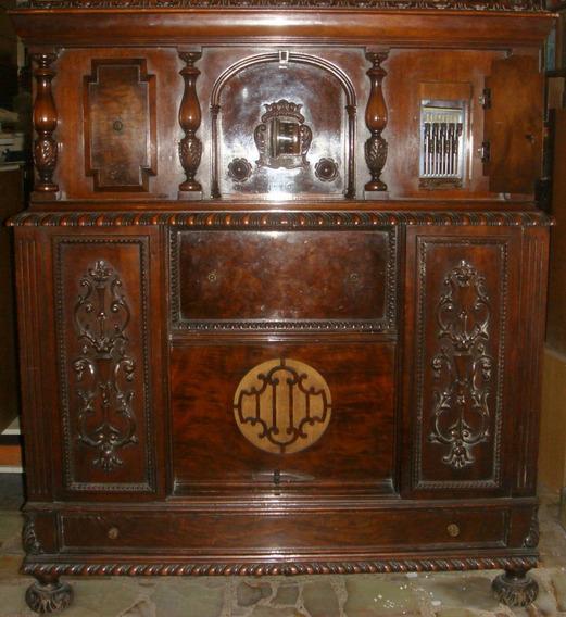 Radio Tocadiscos Zenith 40a Renacimiento Italiano 1928 Func.