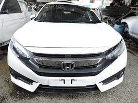 Sucata Civic Touring 1.5 Turbo 2017 - Peças Civic 1.5 Turbo