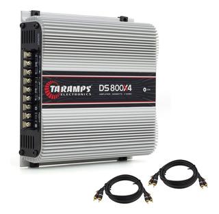 Modulo Amplificador Taramps Ts800x4 800w Rms Brinde Rca