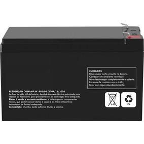 Bateria De Alarme 12v 7ah Alarmes, Cerca Eletrica