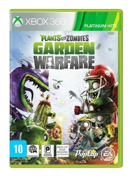 Plants Vs Zombies Garden Warfare Xbox 360 Original Rcr Games