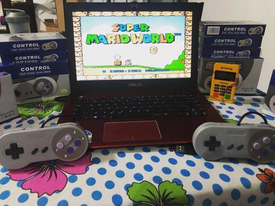 Super Nintendo Portátil - 2 Controles E Vários Jogos