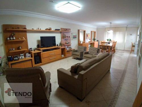 Imagem 1 de 30 de Imob01 - Sobrado 230 M² - Venda - 4 Dormitórios - 3 Suítes - Jardim Beatriz - São Bernardo Do Campo/sp - So0728