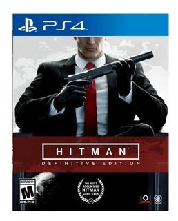 Hitman Definitive Edition Playstation 4 Nuevo