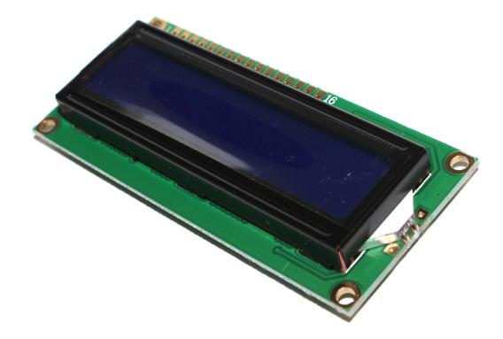 10x Display Lcd 16x02 1602 Backlight Azul Pic Atmel Arduino
