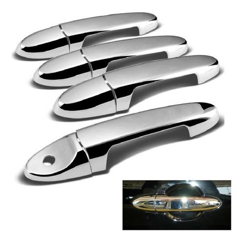 Imagen 1 de 4 de Juego De Cubre Manijas Cromadas Ford Escape 2001 - 2007