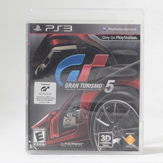 Gran Turismo 5 / Playstation 3 - Original Com Caixa E Manual