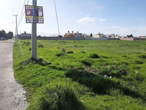Imagen 1 de 6 de Terrenos En Venta En Lázaro Cárdenas, Metepec