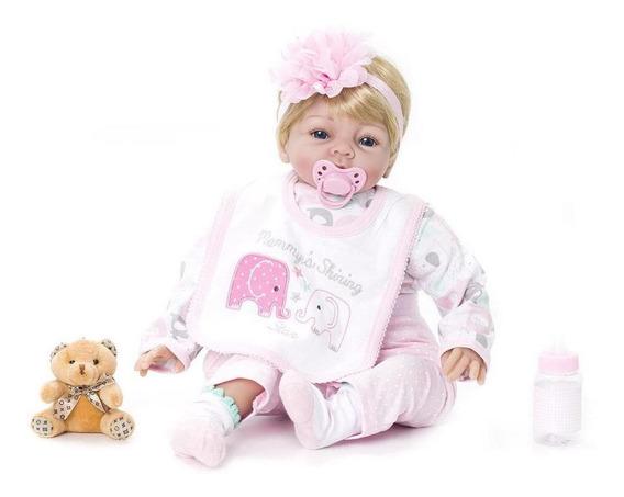 Boneca Bebê Reborn Menina Linda Kaydora Original