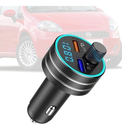 Imagem 1 de 5 de Adaptador Mp3 Bluetooth Usb Via Radio Carregador Punto 2008