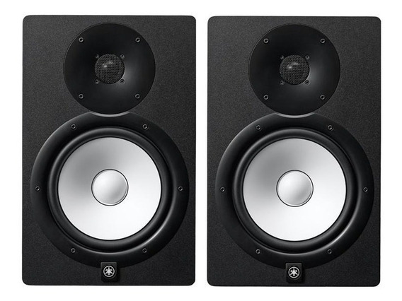 Monitor De Ativo Yamaha Hs8 Preto/ Par/ 220v Novo Na Caixa