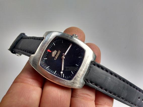Relógio Orient Quartz Masculin Preto By Drakkar Noir Japan