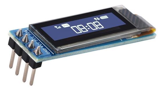 Display Oled 128x32 0.91 I2c Ssd1306 Arduino Pic Pi